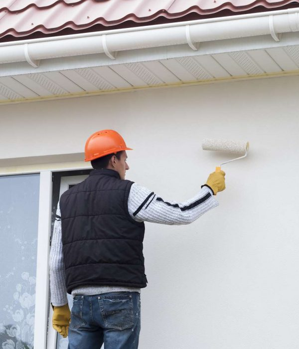 Les étapes pour appliquer la peinture façade