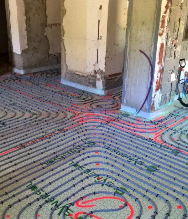 Le chauffage par le sol: comment ça fonctionne ?